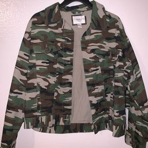 Camo Jean jacket